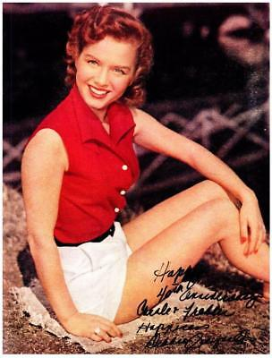 Debbie Reynolds Autographed 8X10 Photo Signed Picture Pic And Coa