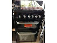 ***NEW Hotpoint 50cm wide gas cooker for SALE with 1 year warranty***