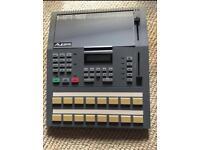 Classic Alesis HR-16 drum machine and extras