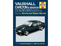 HAYNES VAUXHALL CARLTON & SENATOR 1986 - 1994 PETROL