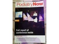 Podiatry Now all is excellent condition from 2008 to 2016