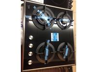***NEW Beko gas hob for SALE with CAST IRON pan supports and 2 years guarantee***
