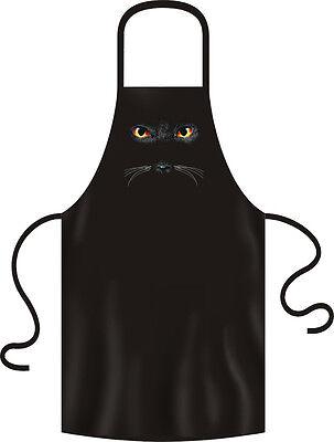 Grill Garten Küchen Schürze Katze Augen Cat eyes - KATZENAUGEN -
