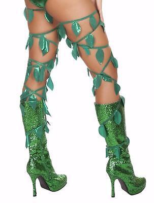 Green Leaf Thigh Leg Wraps 125