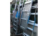 Zarges Profort Work Platform, Mobile Platforms 4 Rungs for sale