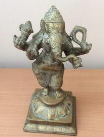 Brass - Ganesh, the elephant-headed god in Hinduism, remover of obstacles.