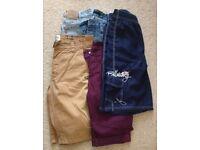 levi, firetrap, billabong shorts