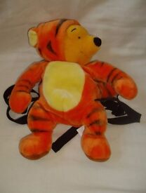 Winnie the Pooh in Tigger Outfit Back Pack