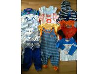Baby boy bundle of clothes 6-9mth