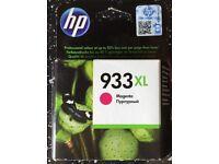 New HP 933XL Magenta Ink Cartridge