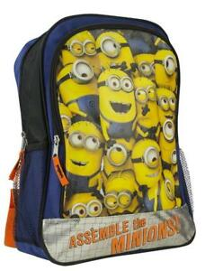 Despicable Me Boys' Despicable Me Backpack Minion Novelty