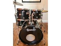 Premier Olympic 5 Piece Kit c/w Hardware & Cymbals