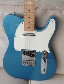 FENDER STANDARD TELECASTER 2016 LAKE PLACID BLUE MINT CONDITION – POSTAGE AVAILABLE