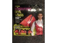 Inflatable Halloween Wings+Smock £20 ONO