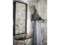Industrial Wall Mirror-Brand new