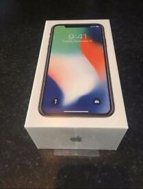 iPhone X / Unlocked / Silver / 64gb