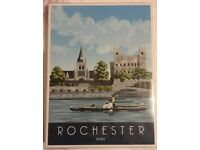 Canvas style print of Rochester brand new £1