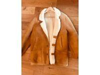 Leather jacket. Size L