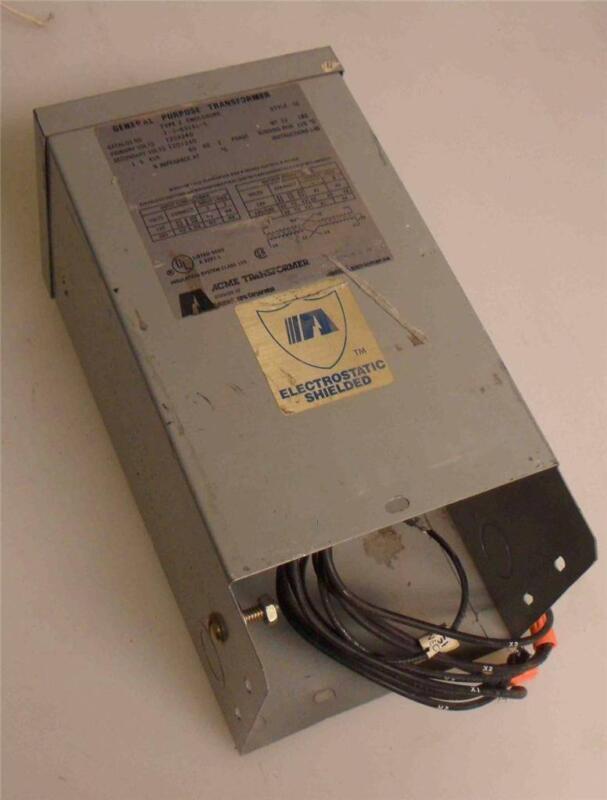 General Electric  GE  General Purpose Transformer  T-3-53041-S  1.5KVA