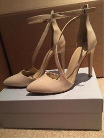 Nude Zara shoes size 5 new