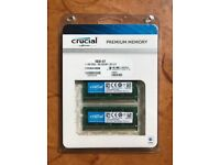 Crucial RAM for Apple MacBook Pro or iMac 1866 SODIMM DDR3L 1.35V 8GB x 2