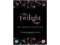 Twilight Saga Full Set of 5 Discs