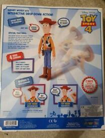 Sheriff woody drop down toy