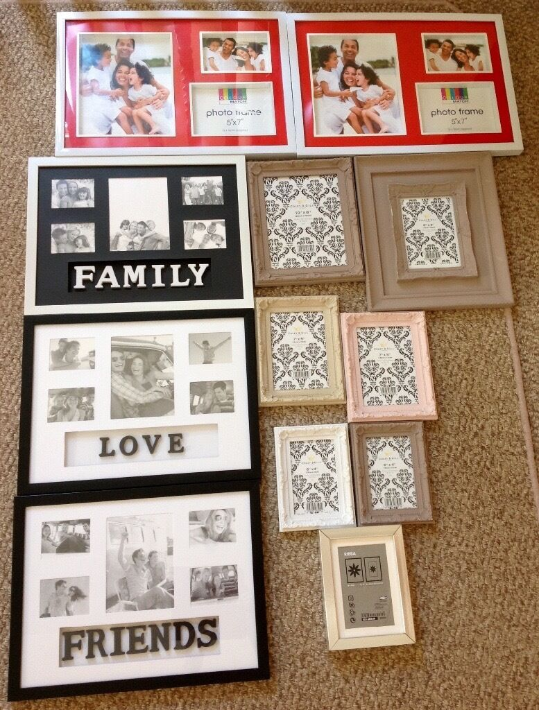 Photo Frames Bundlein Lisburn, County AntrimGumtree - Photo Frame Bundle ~ £5.00 the lot all 12 Frames shown in my picture are included