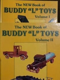 """THE NEW BOOK OF BUDDY """"L"""" TOYS VOLUME I AND II GREENBRG'S"""