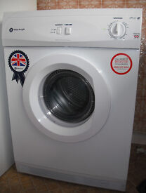 WHITE KNIGHT TUMBLE DRYER.MODEL C44A7W, 9 MONTHS OLD