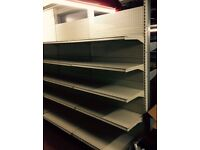 Retail Shop Shelving complete wall bays to fit any shops