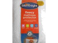 Silent Night Fleece Mattress Protector