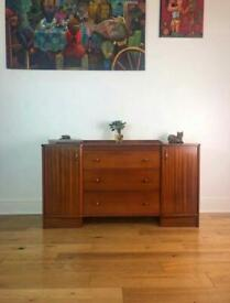 Mid-Century 1960s Small Teak Sideboard by Austinsuite FREE LOCAL DELIVERY