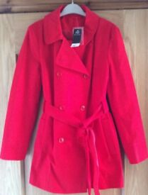 BNWT F&F Red Belted Jacket