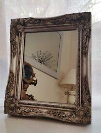 Small Silver Mirror