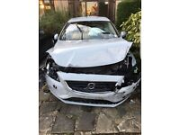 Volvo v40 lux d3 unrecorded 2013 v60 s40 salvage damaged hpi clear