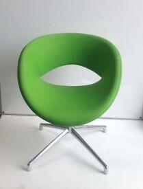 Lime Green Boss Swivel Chair