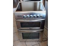 STAINLESS STEEL Belling 60cm, double oven electric cooker FREE DELIVERY, WARRANTY