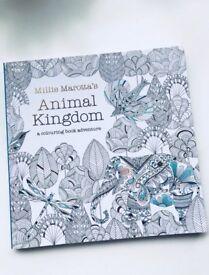 Adult Colouring Book -Millie Marotta's Animal Kingdom