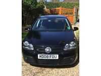 VW Golf 1.4 TSI GT (08) leather, fsh, hands-free kit