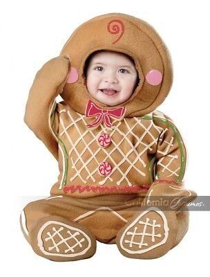 California Kostüme Lebkuchenmann Kleinkinder Baby Weihnachten Kostüm 10040