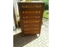 Stagg chest of seven drawers