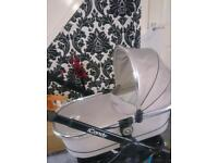 Icandy peach silvermint carrycot
