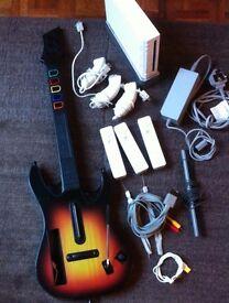 Nintendo Wii, accessories & games.
