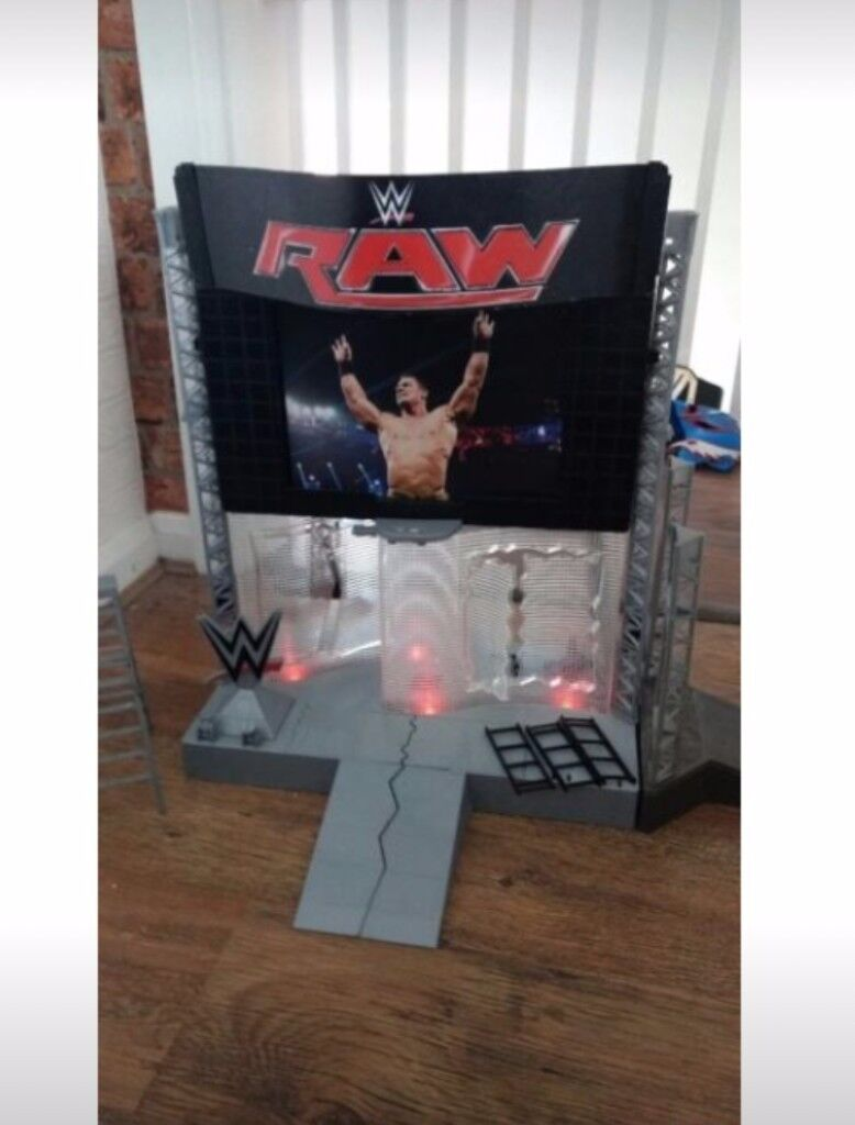 WWE introduction stage playset
