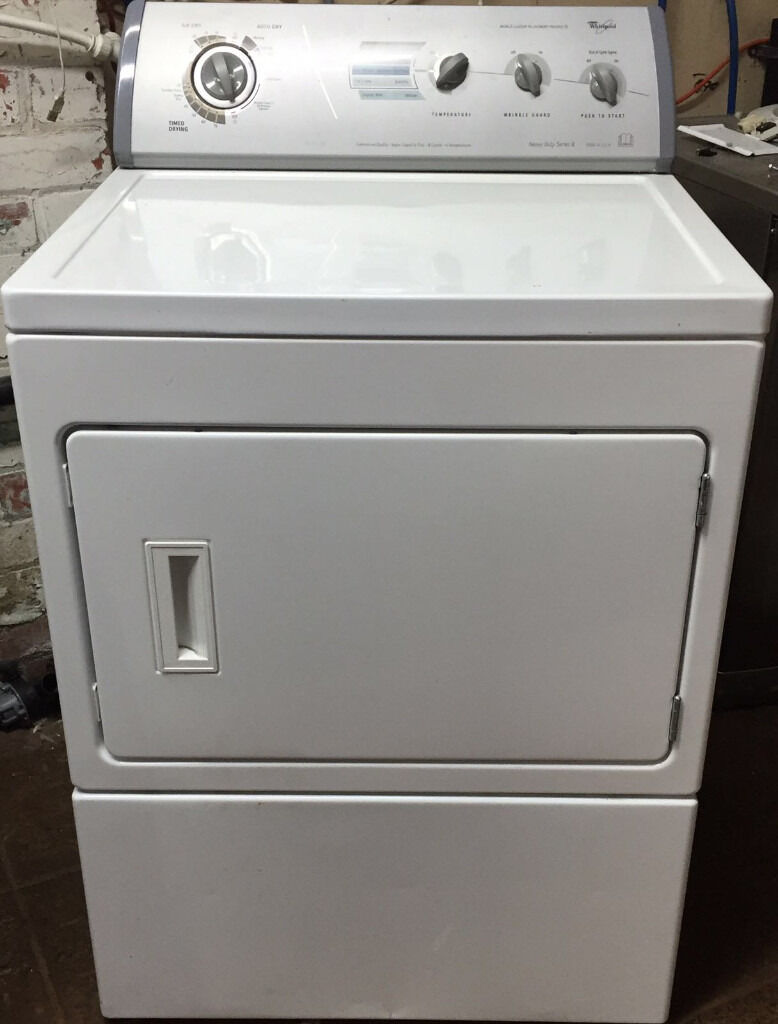 Loading Tumble Dryer ~ Whirlpool large capacity front loading commercial tumble