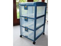 3 tier storage trolley, very good condition, ideal for home office, child's bedroom, shed etc