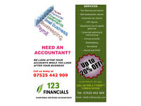 **20% DISCOUNT** ACCOUNTANCY, TAX, ADVISORY SERVICES