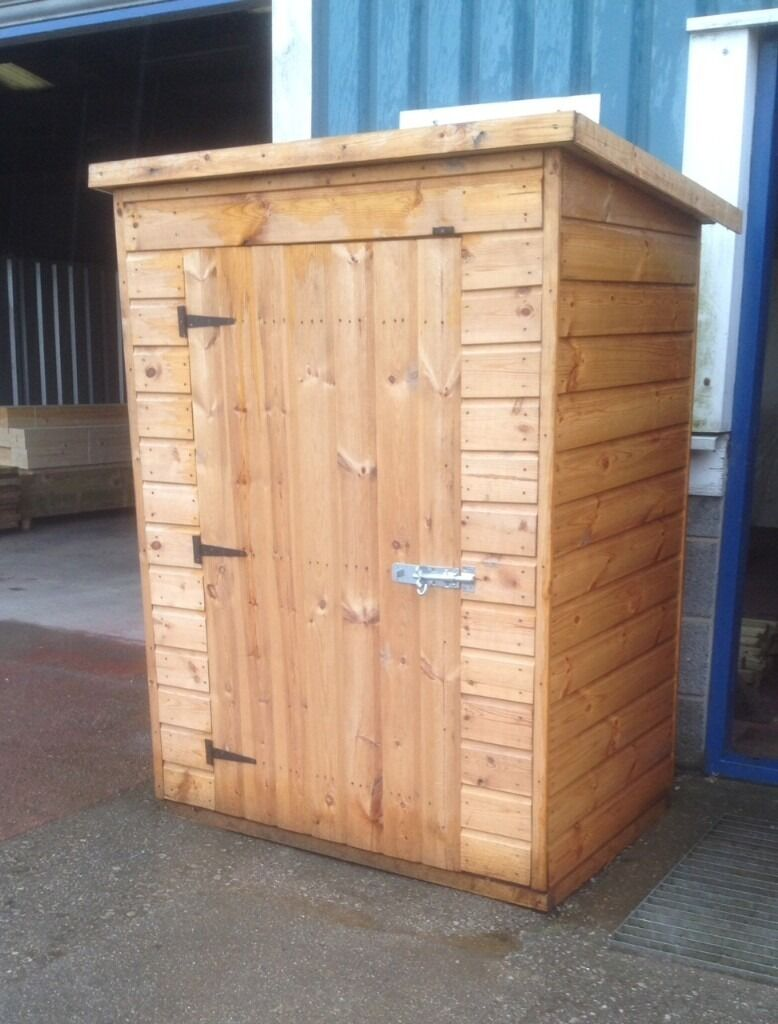 Wooden garages in nottinghamshire - Garden Timber Tidy Tool Store