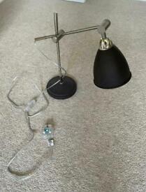 Chrome Task Table Lamp - M&S - Excellent Condition